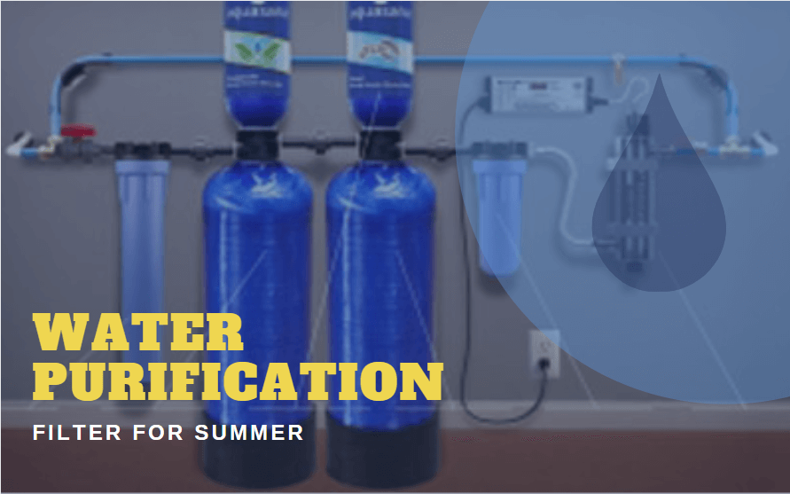 Water Purification Filter For Summer