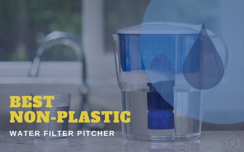 Non-plastic Water Filter Pitcher