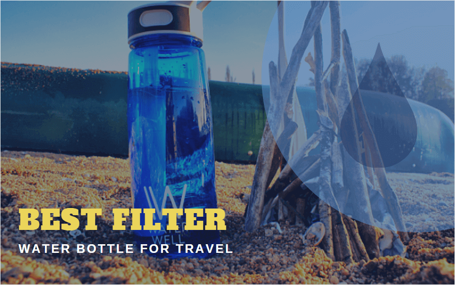 Filter Water Bottle for Travel